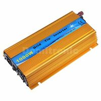 1000W Grid Tie Inverter Pure Sine Wave Inverter 110V or 220V Output Golden Color