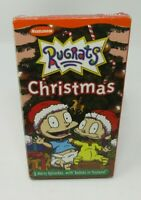 RUGRATS: CHRISTMAS ANIMATED VHS VIDEO, NICKELODEON, 3 MERRY EPISODES, TOYLAND