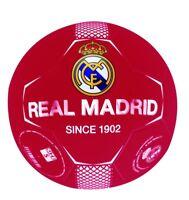 Pallone Real Madrid Ufficiale da Calcio Misura 5 Rosso 2018 2019 since 1902