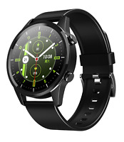 Smartwatch F35 Bluetooth Uhr Rundes 2.5 HD Display IP68 Huawei Android Samsung
