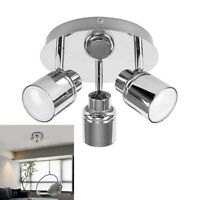 LED Kitchen Ceiling Light Chrome Wall Spotlight Adjustable Spot Light Wall Lamp