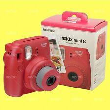 Fujifilm Instax Mini 8 Camera Instant Color Film Camera (Raspberry) Photo Selfie