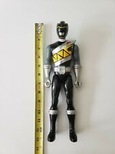 "Power Rangers - Dino Super Charge 12"" Action Figure - BLACK RANGER (Bandai)"