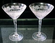 New Margarita Crystal Glasses Set Of 2