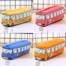 Creative Car Pencil Case Canvas Pencil Box Pen Bags School Students Supplies