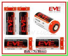 5 Pile 3v cr123 Batteria Litio EVE 123 CR17345 Softair Sensori Allarmi Foto BULK
