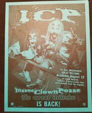 Insane Clown Posse - The Great Milenko Flyer house of krazees twiztid myzery icp