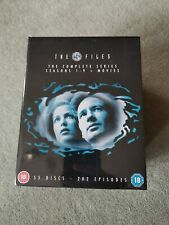 The X-Files Series 1-9 & Movies  Complete (DVD, 2012, 55-Disc Set, Box Set) NEW