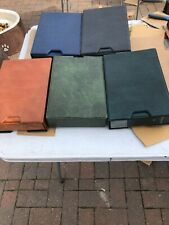 More details for cigarette card storage albums 2nd hand x5 c/w cases