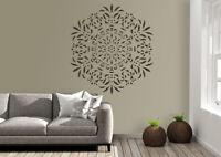 Mandala Stencils Doily Paint Wall Furniture Home Decor Reusable Crafts Art DL14