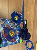 M-Dranzer Right Spin Vintage Original Hasbro Beyblade With Ripcord + Box Cutout