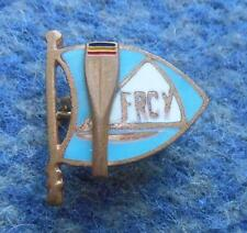 ROMANIA ROWING CANOE KAYAK SAILING YACHTING FEDERATION 1970's ENAMEL PIN BADGE