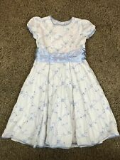 American Girl Bitty Baby  Yellow Pink Sugar and Spice Dress FOR GIRLS SZ XL 7