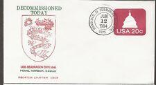 1984 US Seadragon SSN584 Decommissioned Pear Harbor