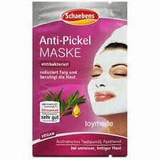 SCHAEBENS Anti-Pickel Gesichtsmaske reduziert Talg unrein fettig Haut 2x5ml