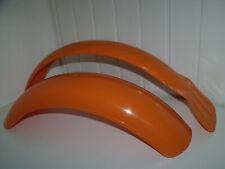 Pr Trials Plastic Orange Mudguards Bultaco Ossa Montesa Pre 65 classic twinshock