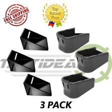 3 Pack Glock OEM Factory Plus 2 Magazine Extension Base Pad  For 9MM .40 .357