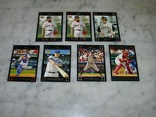2007 TOPPS LOT OF 6 DIFFERENT SP's GORDON, THOME, BAY, MOLINA ,ETC