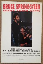 Bruce Springsteen Display STAND Standee 1993 Lucky Town Live single advert promo