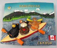 TOURIST SOUVENIR 3D Resin Travel Fridge Magnet  ------  Vancouver , Canada