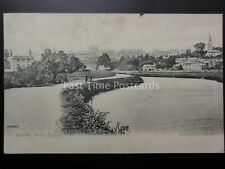Devon EXETER from the Canal c1902 by Valentine 18482