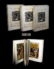 GAUTIER (Théophile) / BOUCHER (Lucien) - Le Capitaine Fracasse. 1/135. TT +suite