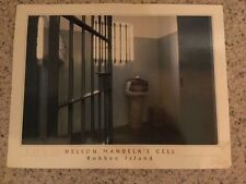 POSTCARD USED AFRICA-CAPE TOWN, SOUTH AFRICA NELSON MANDELA'S CELL ROBBEN ISLAND