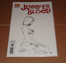 Jennifer Blood #12 Tim Bradstreet Sketch Variant Edition 1st Print Garth Ennis