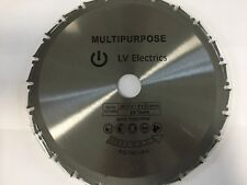 Saw Blade For Evolution Rage 3-s 210mm Mitre Saw