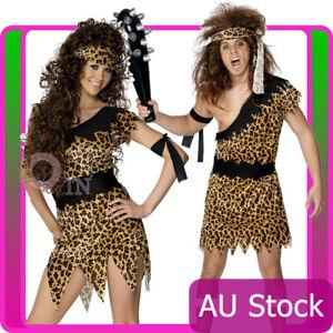 Cavewoman Cave Caveman Costume Flintstones Prehistoric Fancy Dress Tarzan Jungle