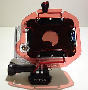 Oculus Red Filter+GoPro Hero2 HD2 Hero HD-2 960 1080p Underwater Dive Housing