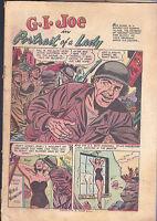 GI Joe #22 (Ziff Davis) Coverless Comic Book