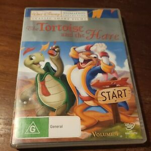 The Tortoise And The Hare region 4 DVD (classic animated Walt Disney short)