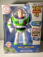 "Disney Toy Story 4 Buzz Lightyear 12"" Action Talking Figure 20+ Sayings"
