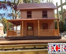 NEW G SCALE 45mm GAUGE STATION LODGE BUILDING RAILWAY TRAIN 1:32 SCALE