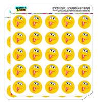 Sesame Street Big Bird Face Planner Calendar Scrapbooking Crafting Stickers