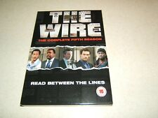 THE WIRE : COMPLETE FIFTH SEASON ..4 DISC  REGION 2 DVD