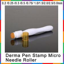 0.5mm Derma Pen Stamp Micro Needle Roller 40 Titanium Gold Needles Anti Aging