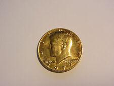 1977 Kennedy Half Dollar Plated with 24-Karat Gold