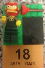LEGO SERIES 2 THE SIMPSONS MiINIFIGURE - GROUNDSKEEPER WILLIE - BRAND NEW