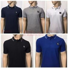 Stone Island Fitted Short Sleeve Men's Casual Shirts & Tops