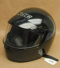 New NOS HJC CS-10 Full Face Black Snowmobile Helmet Size Small 130-602