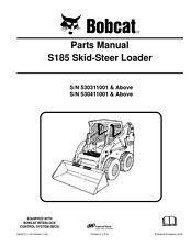Bobcat S185 Skid Steer Loader parti manuale, ristampa Pettine vincolato