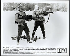 SCREAMERS 1995 Peter Weller, Andy Lauer - Philip K. Dick 10x8 STILL
