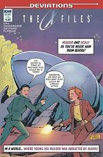 X-Files Deviations One Shot Gordon Purcell Subscription Variant IDW Comic Book