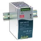 Mean Well SDR-240-24 AC to DC DIN-Rail Power Supply 24 Volt 10 Amp 240 Watt