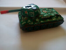 Vintage Russian Tin Toy Tank Battery Operated