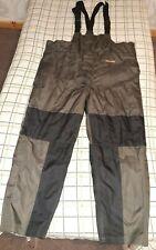 Wychwood Carp Thermo Bib & Brace Fishing Waterproof Trousers. New No Tags