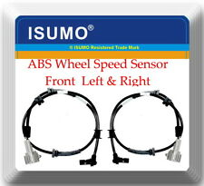 Set 2 ABS Wheel Speed Sensor Front Left & Right Fits:Q56 Armada Pathfinder Titan