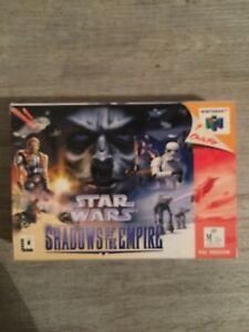 Star Wars Shadow Of The Empire Nintendo 64 Boxed PAL CIB LIKE NEW!